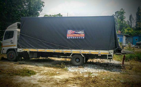 รถเฮี๊ยบกบินทร์บุรี บริการรถเฮี๊ยบ รถบรรทุกติดเครน 3 ตันถึง 10 ตัน มีทั้ง 6 ล้อและสิบล้อ (40)