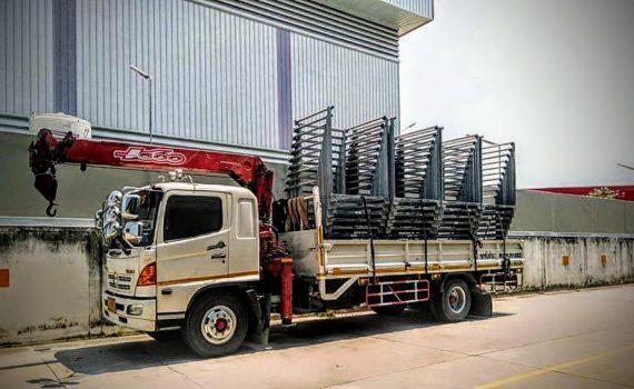 รถเฮี๊ยบกบินทร์บุรี บริการรถเฮี๊ยบ รถบรรทุกติดเครน 3 ตันถึง 10 ตัน มีทั้ง 6 ล้อและสิบล้อ (45)