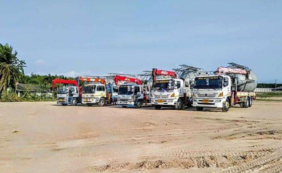 รถเฮี๊ยบกบินทร์บุรี บริการรถเฮี๊ยบ รถบรรทุกติดเครน 3 ตันถึง 10 ตัน มีทั้ง 6 ล้อและสิบล้อ (46)